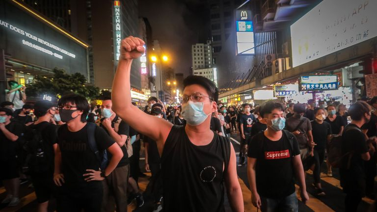 Protesters say the latest move by Carrie Lam is merely a different form of words