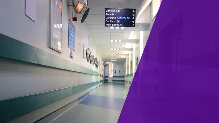Hospital corridors are mazes