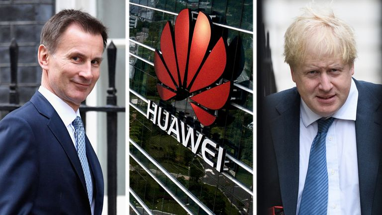 The next PM has been urged to make a quick decision on Huawei