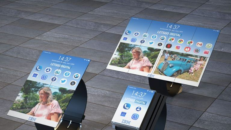 IBM has patented a watch which unfolds into a tablet. Pic: Let'sGoDigital