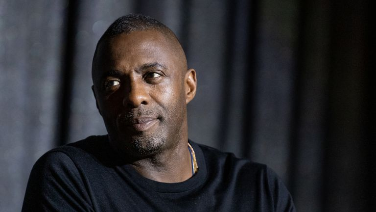 Idris Elba speaks onstage at Netflix's 'Turn Up Charlie' For Your Consideration event at Pacific Design Center on March 02, 2019 in West Hollywood, California