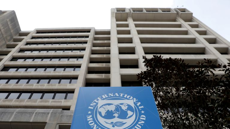 The International Monetary Fund is based in Washington DC