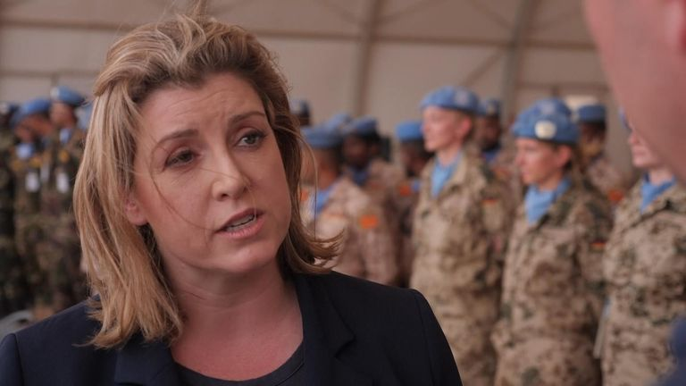 Defence Secretary Penny Mordaunt said the Iranian seizure of the  British-flagged oil tanker is a