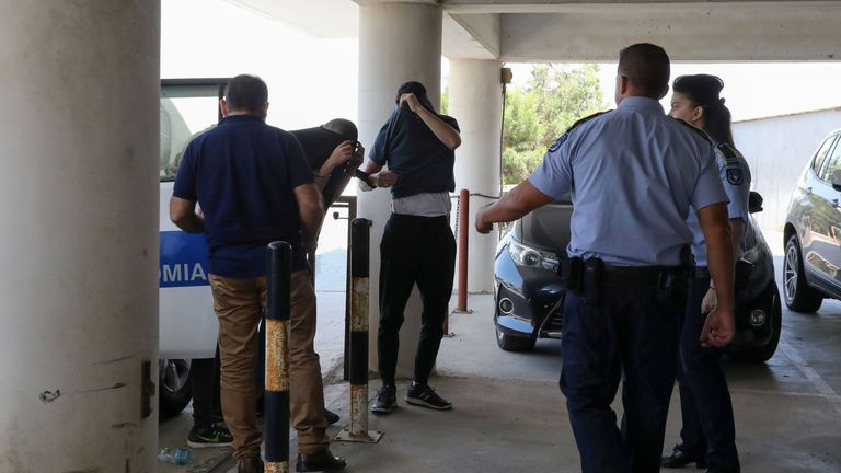The suspects were at court for a remand hearing conducted behind closed doors