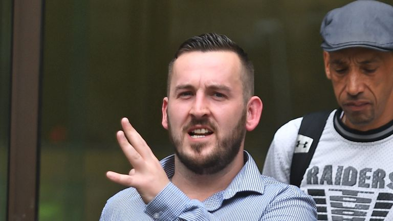 James Goddard has pleaded guilty to public order offences