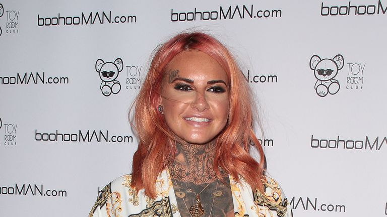 Jemma Lucy attends the Love Island Welcome Home Party at Toy Room Club on August 8, 2018 in London, England. (Photo by Ricky Vigil/GC Images)