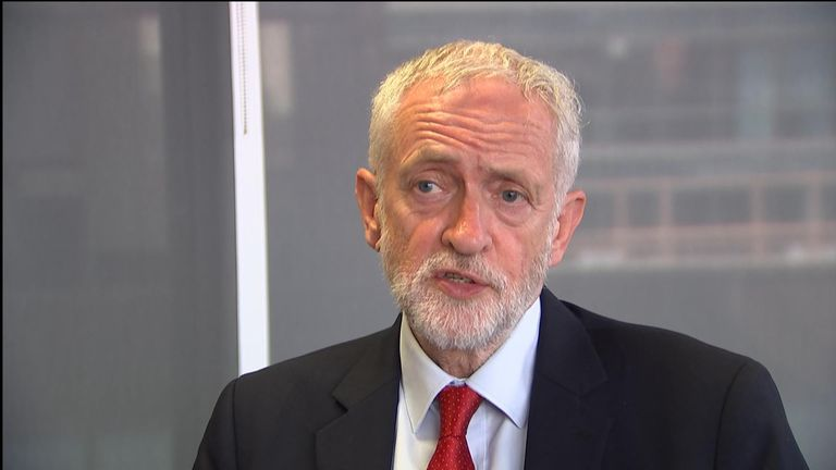 Labour Leader Jeremy Corbyn said he will table a no-confidence motion