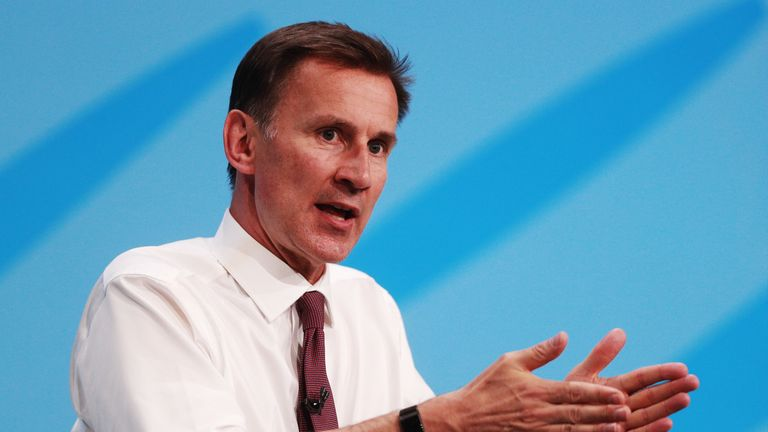 Jeremy Hunt said he would not prorogue parliament to force through a no-deal Brexit