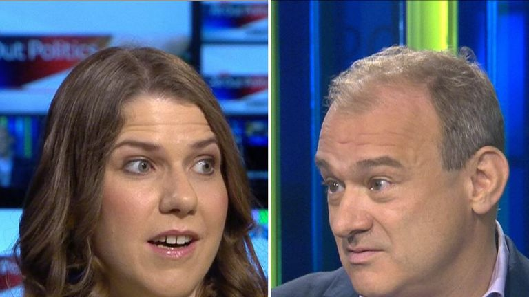 MPs Jo Swinson and Sir Ed Davey hoping to be new Lib Dem leader