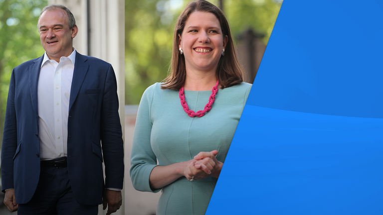 Jo Swinson and Ed Davey are running to be the next Lib Dem leader