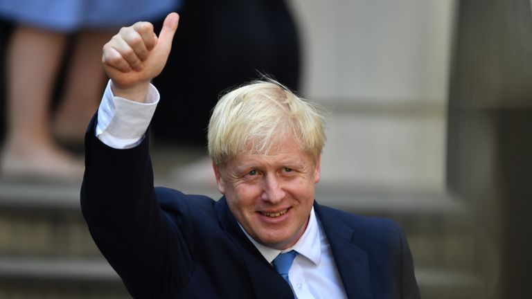 Boris Johnson will become PM tomorrow