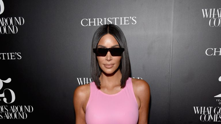attends Christie's x What Goes Around Comes Around 25th Anniversary Auction Preview at What Goes Around Comes Around on August 21, 2018 in Beverly Hills, California.