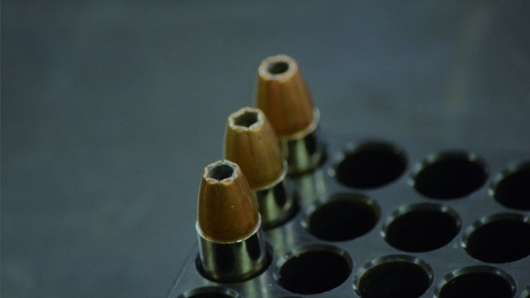 Ammunition shown in evidence during Davies' trial