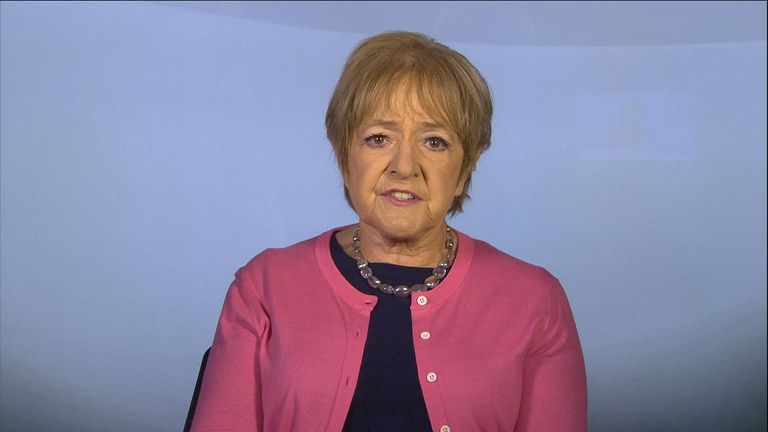 Margaret Hodge MP on Ridge on Sunday talking about antisemitism.