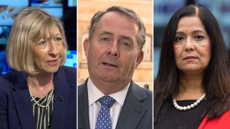 Baroness Wheatcroft, Liam Fox and Yasmin Qureshi said they suffered horrific abuse