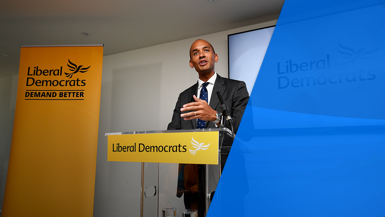 Chuka Umunna joined the party after the swift collapse of Change UK