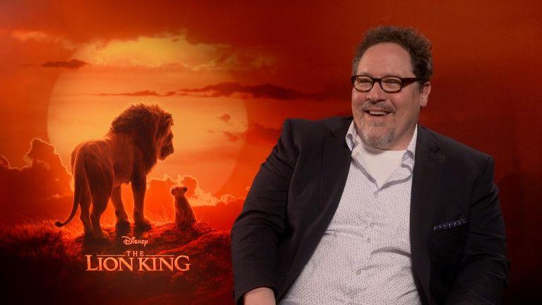 Hasil gambar untuk Jon Favreau director the lion kings
