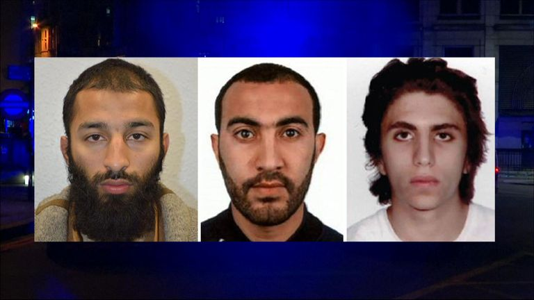 A jury at the inquest into the deaths of the three London Bridge attackers agrees they were lawfully killed by armed officers.