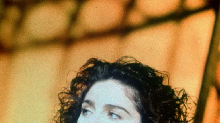 Madonna in the Like A Prayer video - 1989
