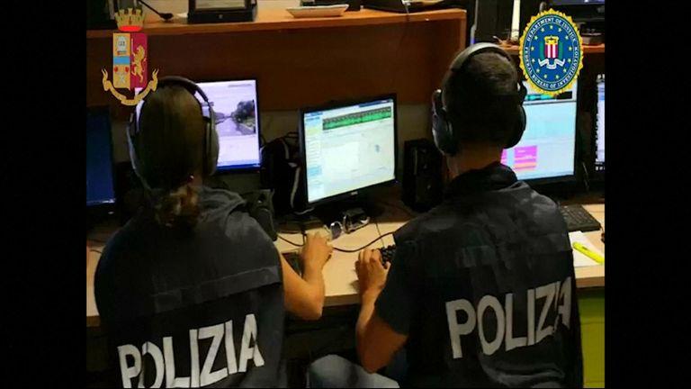 Italian, U.S. police make arrests as Mafia clan looks to regroup