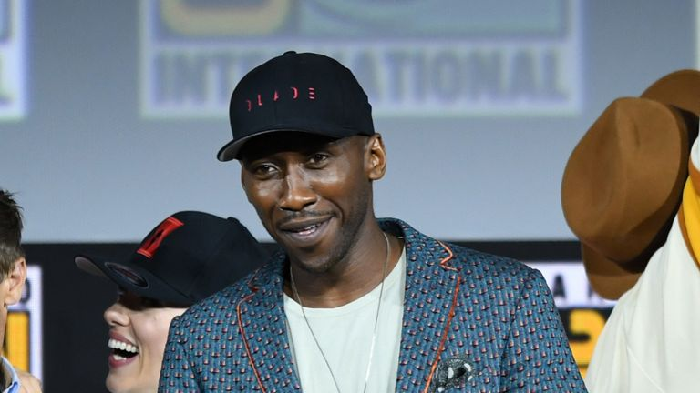 Two-time Oscar winner Mahershala Ali will play Blade