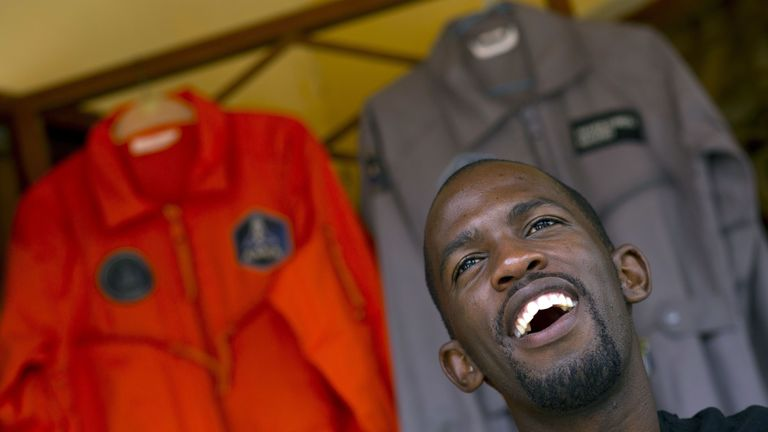 Mandla Maseko received training to go to space - but never made the trip