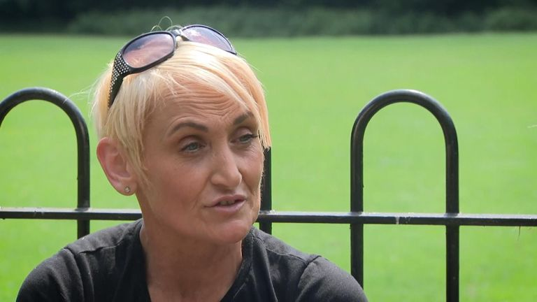 Mandy Jamieson says youngsters are drawn to violence because they 'have nothing to do' in the local area