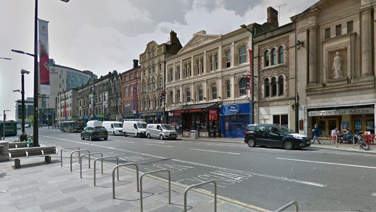 A man has been found dead on St Mary Street in Cardiff