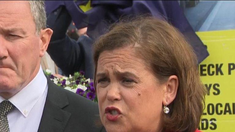 Sinn Fein has made its concerns clear to Boris Johnson