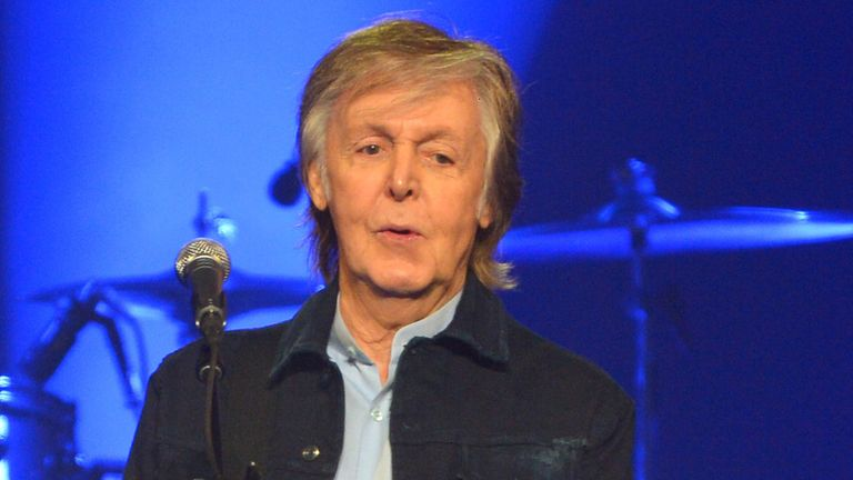 At the age of 77 it will be Sir Paul's first musical