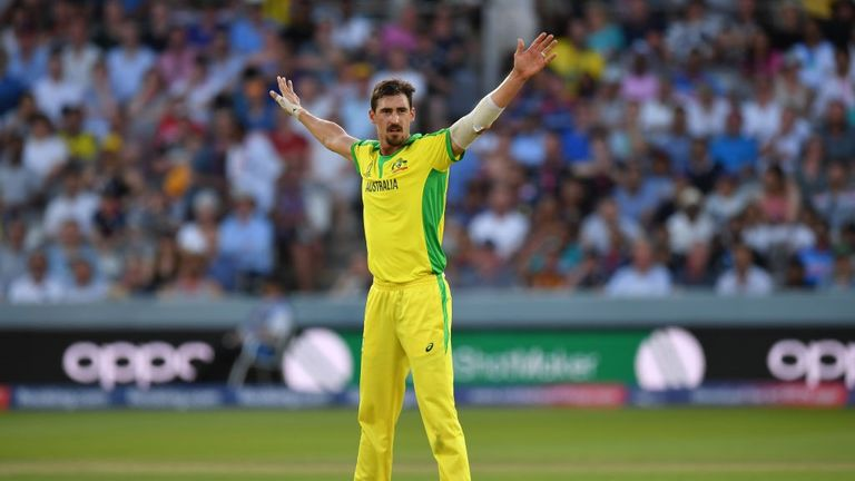 Mitchell Starc has taken the most wickets of the tournament