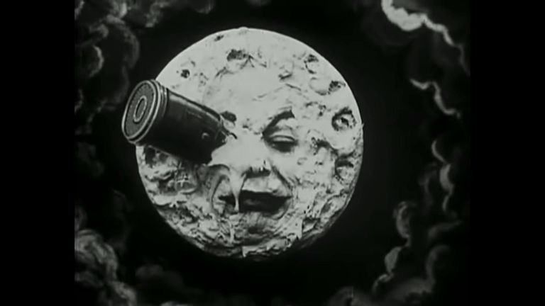 The moon has inspired art for generations. Pic: La Voyage Dans La Lune/Star Film Company