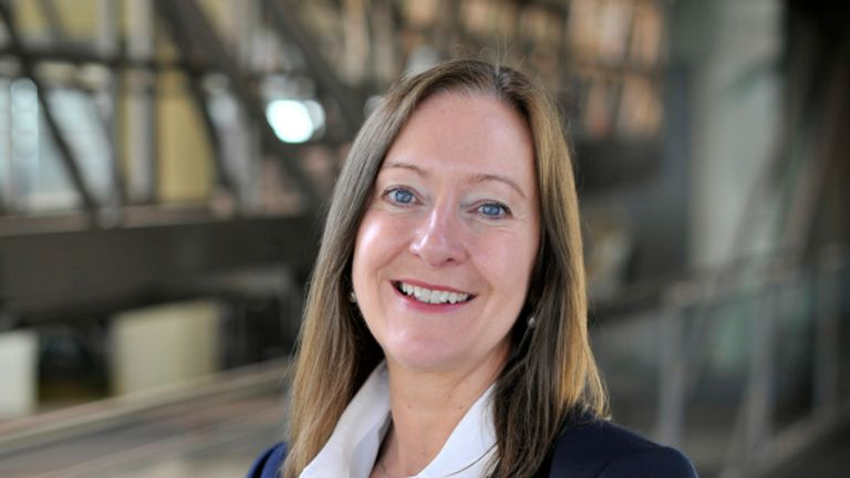 Jill McDonald is the head of M&S' clothing and home arm. Pic: M&S