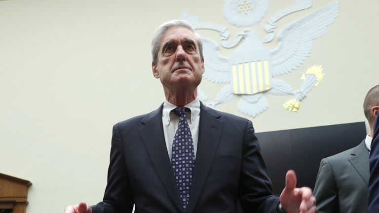 Robert Mueller said he 'did not exonerate' President Trump