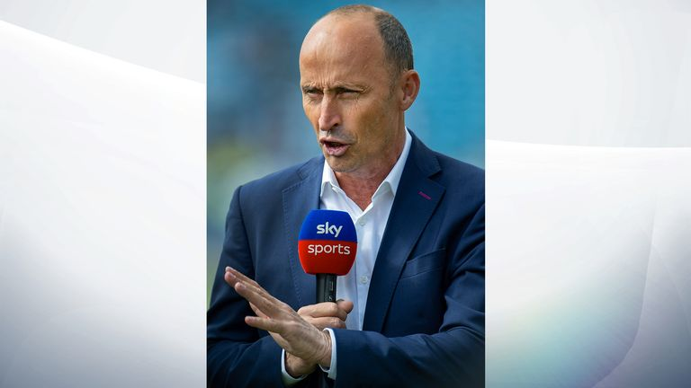 Former cricketer Nasser Hussain captained England between 1999 and 2003