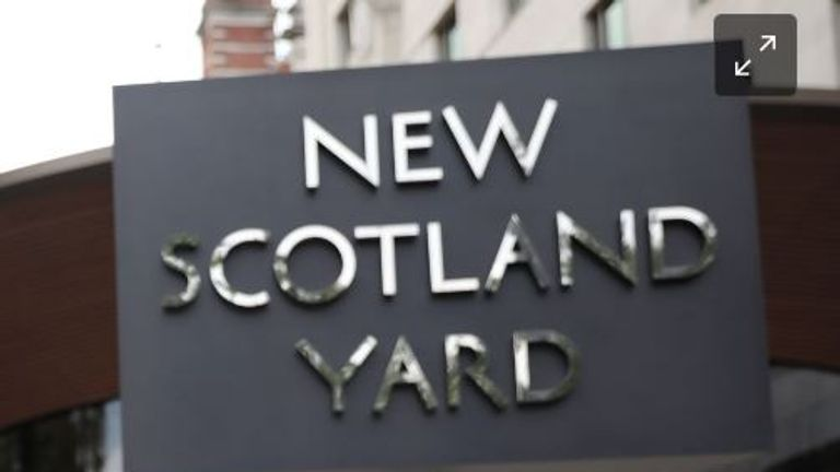 The Metropolitan Police have said they 'respect the rights of the media'