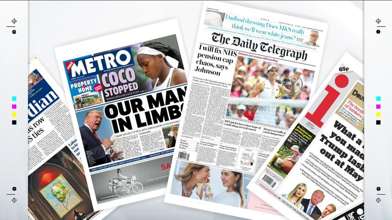 Newspapers - The Latest News from the UK and Around the World | Sky News