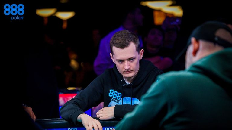 Nick Marchington has walked away from the tournament with more than $1.5m