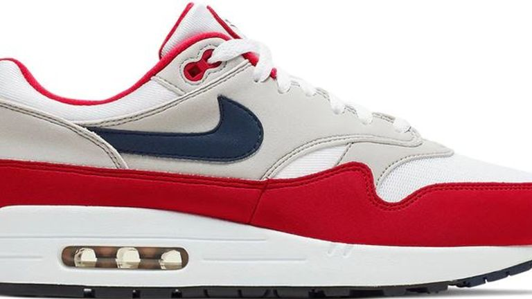 Air Max 1 USA (2019). The flag was controversial enough for Nike to pull the shoes from sale but they are still being sold on secondary websites