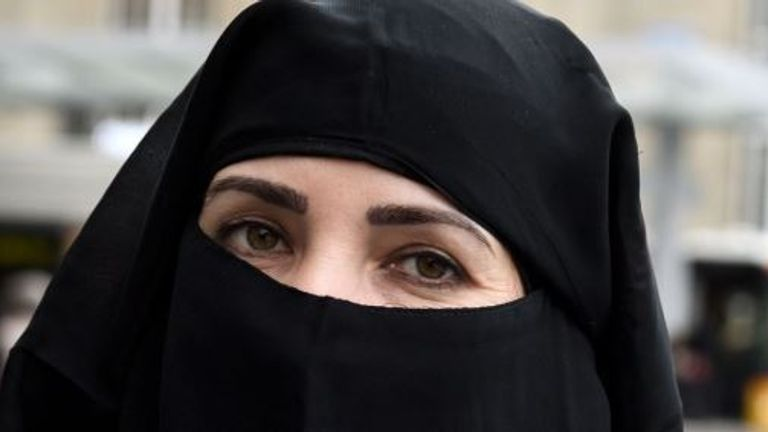 The niqab  will be banned in public institutions