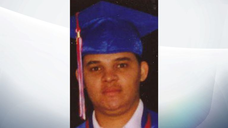Larry Ely Murillo-Moncada, 25, was reported missing in November 2009