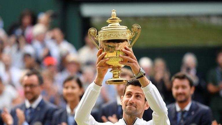 Novak Djokovic battled past Roger Federer in the longest Wimbledon final in history