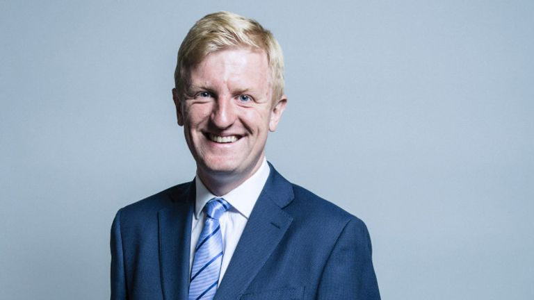 Oliver Dowden. Pic: UK Parliament