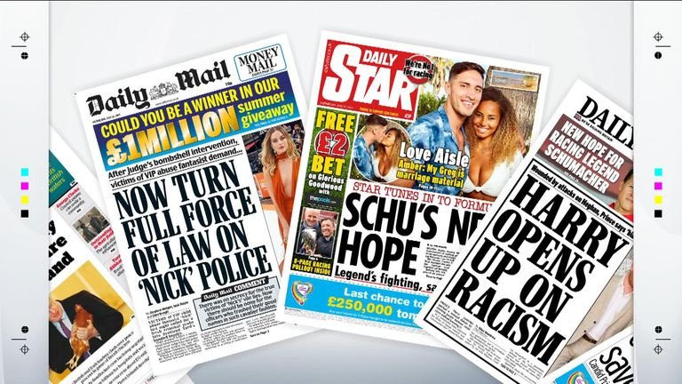 Tomorrow's papers