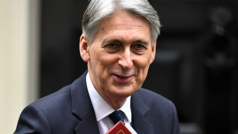 Philip Hammond is leading the informal group of rebel MPs