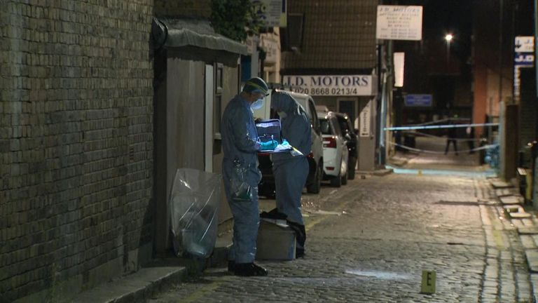A man, believed to be in his late teens, has died after being stabbed in Croydon