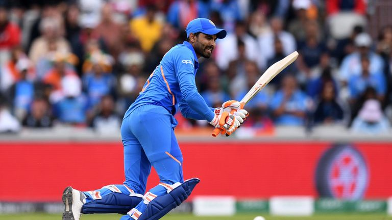 Ravindra Jadeja four fours and as man sixes could not secure India a place in the final