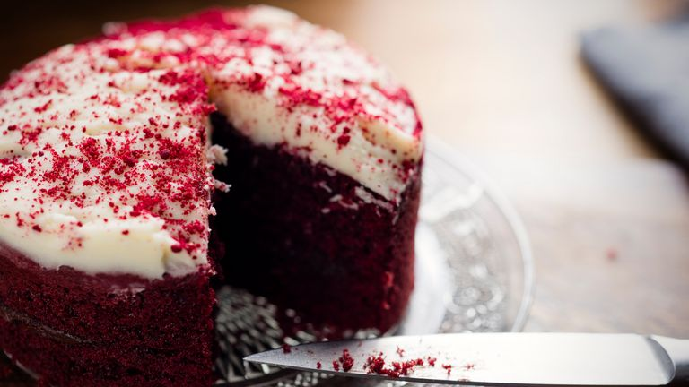 The red velvet cake was brought into the hospital by a grateful patient. File pic