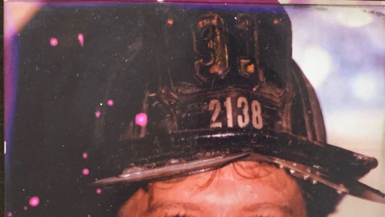 Firefighter Richard Driscoll has died. Pic: FDNY