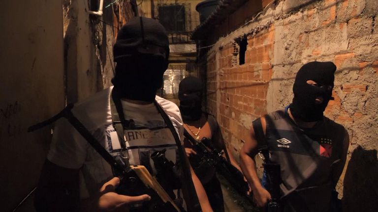 Drug gangs in Brazil make millions every year